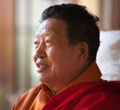 Akong Rinpoche Side portrait