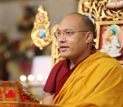Karmapa Smiling Teaching square thumb for slide